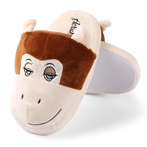 Sleepy Monkey Plush Slip-On Warm & Comfy Slippers Men's for sale  Delivered anywhere in USA