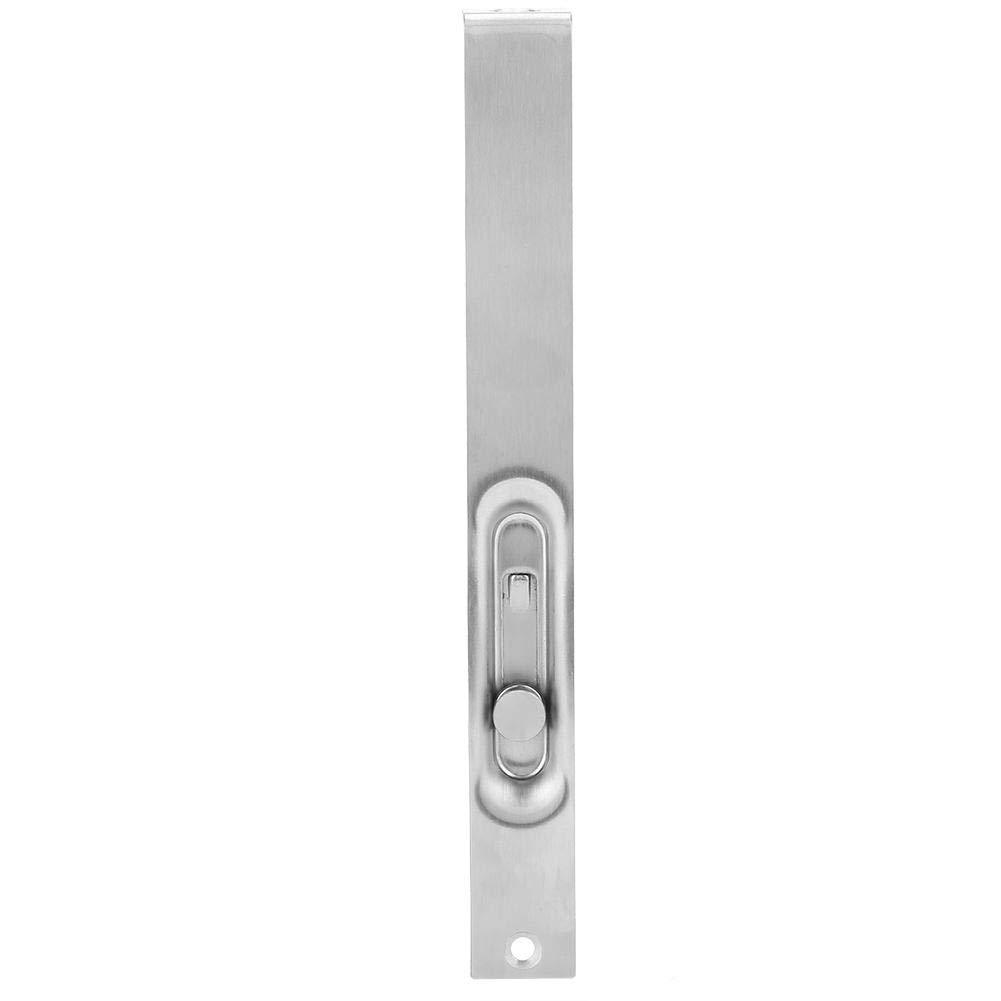 Eboxer 1 St/ück Edelstahl Versteckte T/ürriegel Security Guard Lock Schiebet/ür Latch f/ür Haus 4zoll