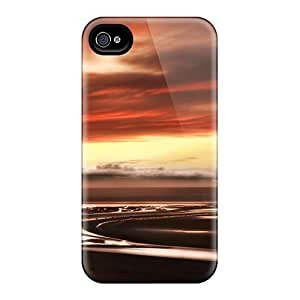 Protection Cases For Iphone 6 / Cases Covers For Iphone(water Sunset Clouds Landscapes Nature)