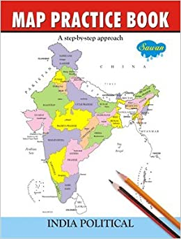 Amazon buy map practice book india poltical book online at low amazon buy map practice book india poltical book online at low prices in india map practice book india poltical reviews ratings gumiabroncs Image collections