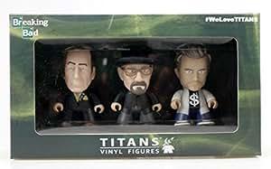 Breaking Bad TITANS: 3 Three Pack: Walter, Jesse & Saul