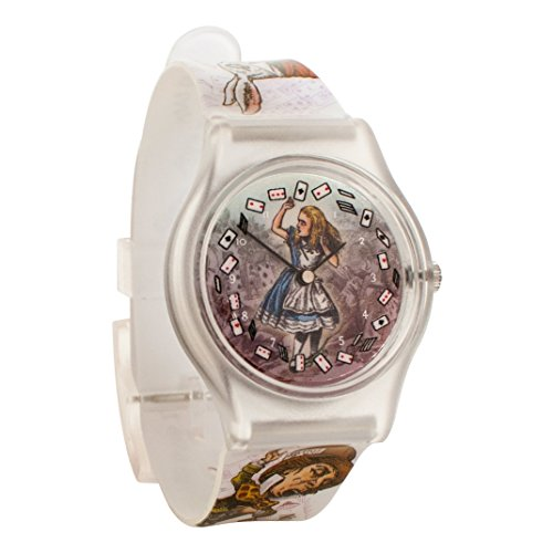 Lewis Carroll Alice in Wonderland Unisex Analog Watch