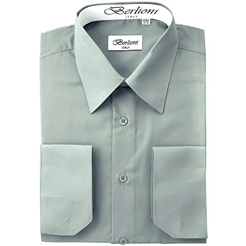 dress shirts to wear with grey suit - 9