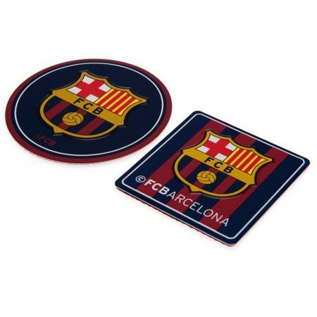Official FC Barcelona Set of Two Metal Signs