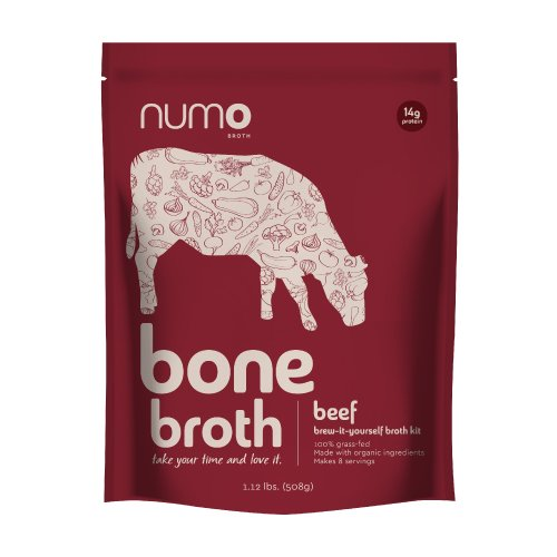 Numo Broth 100% Grass-Fed Beef Bone Broth Kit