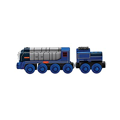 Fisher-Price Thomas & Friends Wooden Railway, Racing Vinnie: Toys & Games