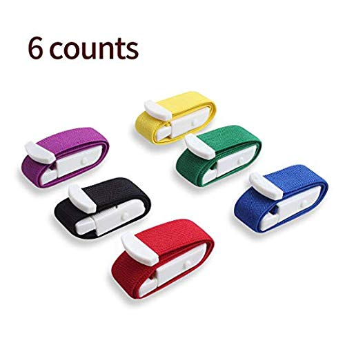 Ewinever 6-Pack Tourniquet Elastic First Aid Quick Release Medical Sport Emergency Buckle Band