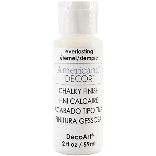 DecoArt ADC30-01 Americana Chalky Everlasting Finish Paint, 2 oz ()