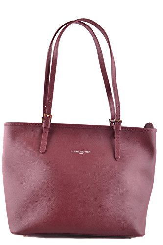 lancaster-paris-womens-mcbi370004o-burgundy-leather-tote