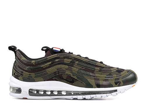 Nike Air Max 97 Qs Premium Schuhe Sneaker Unisex Neu Oliva Medio Nero 200