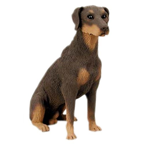(Doberman Figurine Red Uncropped)