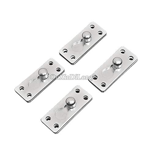 HOT 24PCS/LOT Bed Rail Brackets Wood Bed Invisible Latches Hinges Furniture Hidden Buckle Fixed Connector Fittings