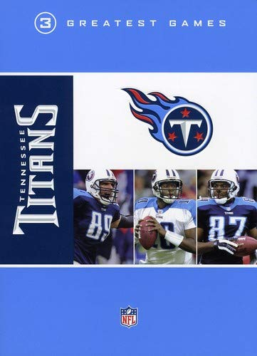 low priced 23aac 440b3 NFL  Tennessee Titans - 3 Greatest Games