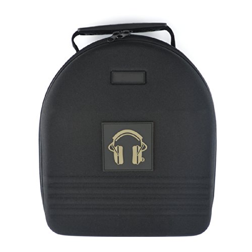 531689b9dd0 Headphones Full Size Hard Shell Large Carrying Case   Headset Travel Bag  with Space for Cable