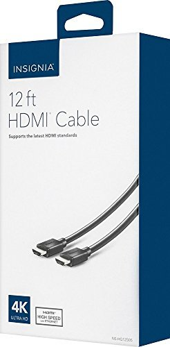 InsigniaTM - 12 HDMI Cable - Black