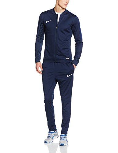 Nike Herren Trainingsanzug Academy 16 Knit Tracksuit, Obsidian/Deep Royal Blue/White, M, 808757-451