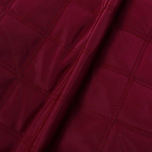 hibote invierno cremallera vuelo ejército bombardero chaqueta de mujeres abrigo borgoña