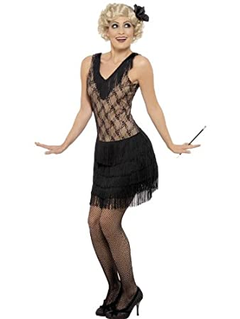 Female 1920u0027s Fancy Dress Chicago Costume UK Dress ...  sc 1 st  Amazon UK & Female 1920u0027s Fancy Dress Chicago Costume UK Dress 8-10: Amazon.co ...
