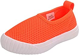 Boy's Girl's Mesh Slip On Loafers Casual Shoes Running Sneaker
