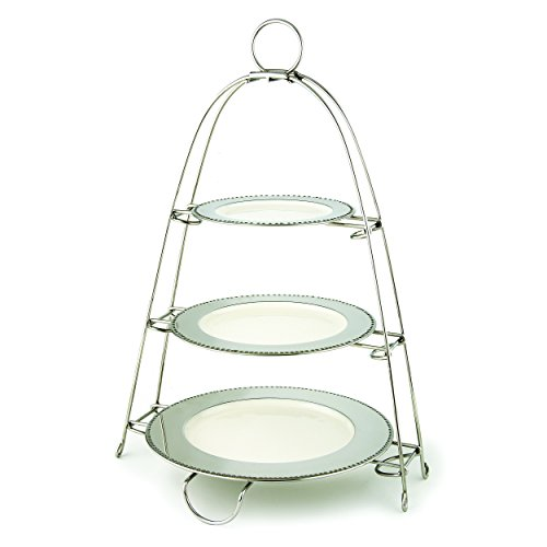 Two Tier Plate Stand Wrought Iron Two Tier Plate Rack 8