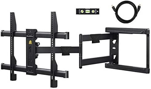 "FORGING MOUNT Long Extension TV Mount Corner Wall Mount TV Bracket Full Motion with 30 inch Long Arm for Corner/Flat Installation suits 32 to 70"" Flat/Curve TVs, VESA 600x400mm Holds as much as 99lbs"