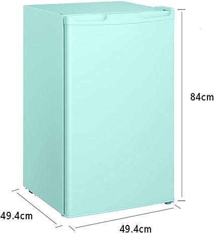 Mini Refrigerador Simple Y Elegante, Refrigerador Pequeño Refrigerado Y Microcongelado Refrigerador De Cerveza De Bajo Ruido Y Ahorro De Energía For Dormitorios De Cocina, Etc, Verde: Amazon.es: Hogar