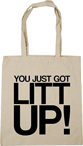 got Natural litt HippoWarehouse x38cm Shopping 42cm just Beach Bag up litres Gym Tote You 10 RZZtp6nxE