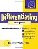 Differentiating in Algebra, PreK-Grade 2, Jennifer Taylor-Cox, 0325021848