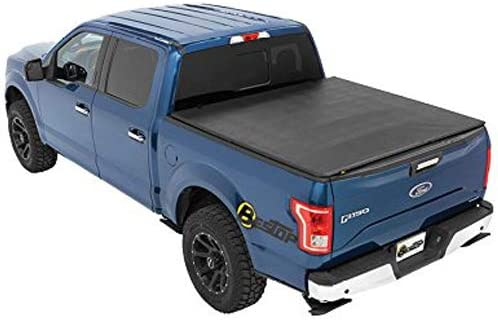 Amazon Com Bestop 16113 01 Ez Fold Truck Tonneau Cover For 2004 2018 Ford F 150 Styleside Crew Cab Super Cab Except Heritage 5 5 Bed Black Automotive