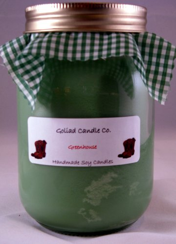 16oz Hand Poured Soy Candle From Goliad Candle Co
