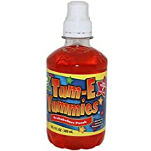 Tum-E Yummies Fruit Flavored Drink, Fruitabulous Punch 10 Oz (Pack of 12 Bottles)