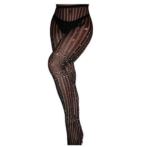 SNOWSONG Stockings Rhinestone Pantyhose Stocking product image