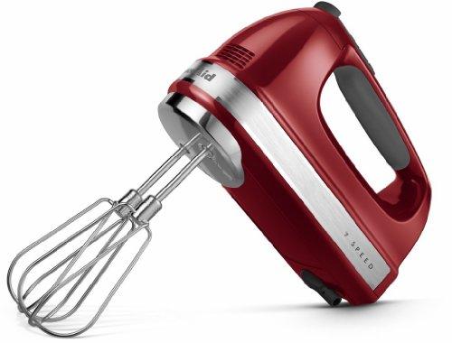 KitchenAid KHM720ER 7-Speed Digital Hand Mixer, Empire Red by KitchenAid