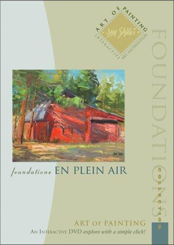 Landscape oil painting with Don Sahli. Art of Painting - En Plein Air Art Instruction DVD