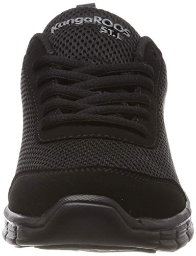 K Adulto Zapatillas Light Schwarz Black Kangaroos Ref run mono 5500 Unisex jet dZqdFO
