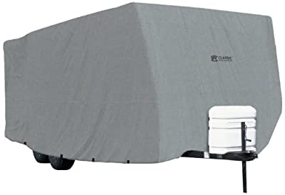 Classic Accessories Overdrive PolyPro 1 RV Cover - Breathable and Water Repellant Travel Trailer Cover
