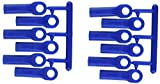 RPM Traxxas Long Rod Ends - Blue