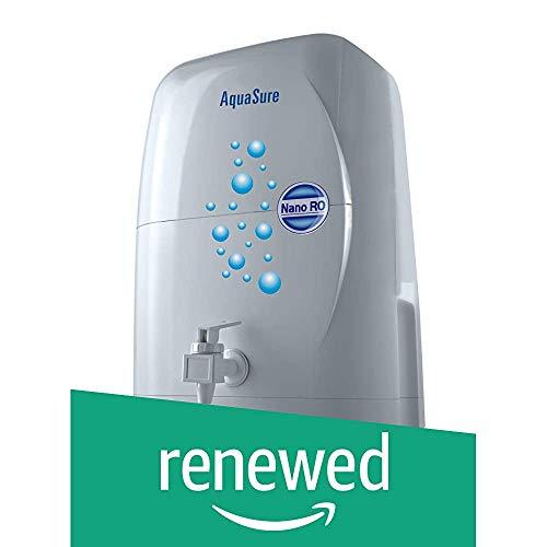 (Renewed) Eureka Forbes Aquasure Nano RO 4-Litre Water Purifier (White)