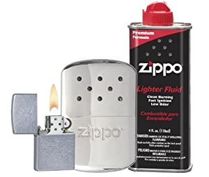 Zippo Hand Warmer Gift Set, Chrome, 12 Hour