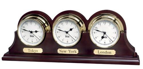 Endurance 085 Clock - Triple Wood Base Endurance 085 (Mahogany Finish)