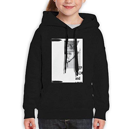 Rwea Keep Calm And Love Golf Teenage Classic Cheap Cool Sweatshirts Lightweight