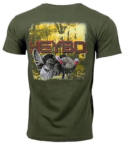 Heybo Spring Turkey Adult SS T-shirt-xl