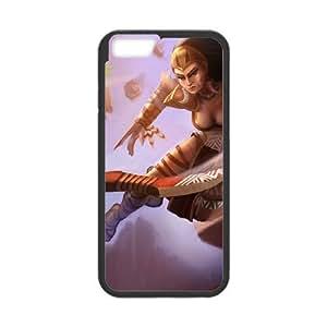 League of Legends(LOL) Sivir iPhone 6 Plus 5.5 Inch Cell Phone Case Black Phone Accessories LK_823684