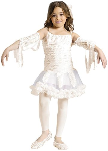 Tutu Mummy Child Costume Size 4-6 Small (Girls Tutu Mummy Costumes)
