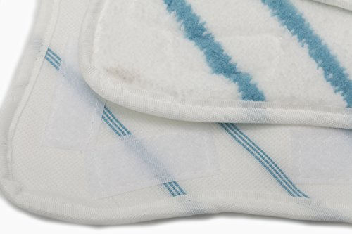 LTWHOME Replacement Microfiber Mop Pads and Coral Pads Set Fit For H2O Steam Mop X5 (Pack of 12) by LTWHOME (Image #5)