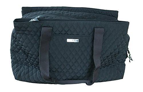 Triple Travel Bag (Vera Bradley Triple Compartment Travel Bag, Classic Black)