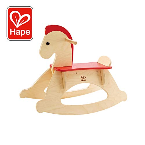 (Hape Rock and Ride Kid's Wooden Rocking Horse )