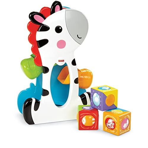 Fisher Price - CGN63 - Mattel - Mon Zèbre Blocs