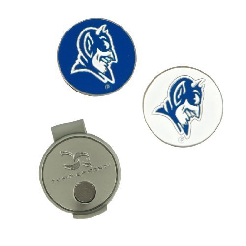Duke Blue Devils Hat Clip - Duke Blue Devils Hat Clip and Ball Markers by Team Effort