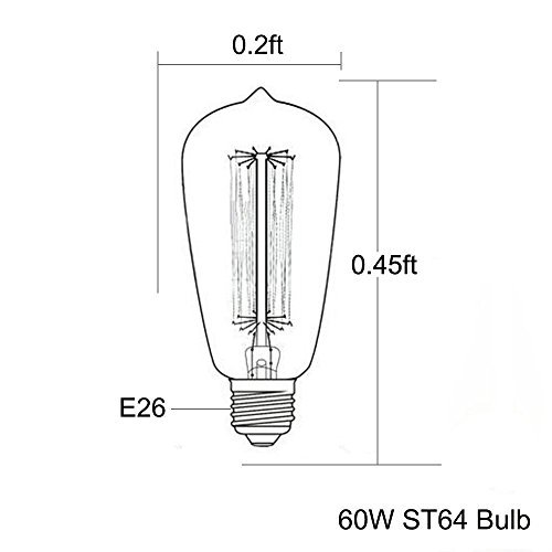 60 watt edison bulb - 3
